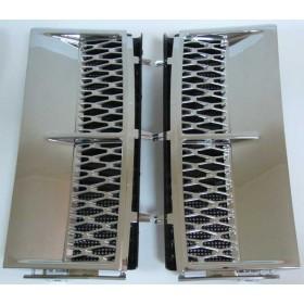 Комплект решеток крыла (хромированных) JAK500300LQV-C + JAK500310LQV-C